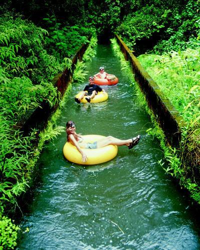 Tubing Canals, Kauai, Hawaii