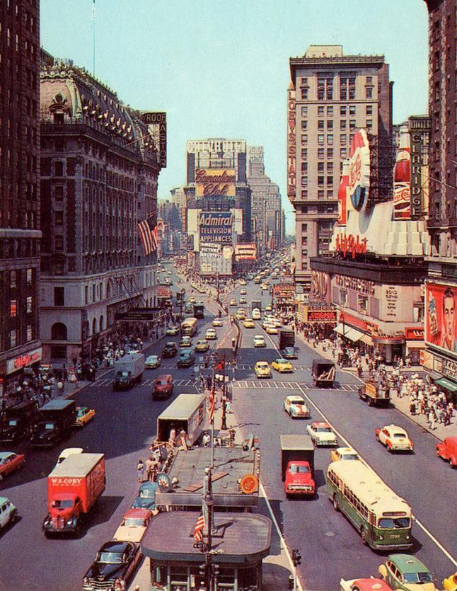 Times Square, New York City(1948)
