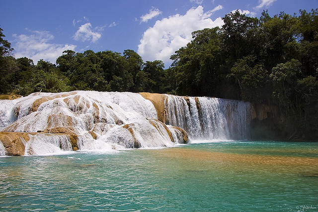 Cascadas de Agua Azul, Chiapas, MexicoTravel infos/Accomodation: http://www.travelchiapas.com/