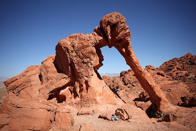 Elephant Rock - Valley of Fire State Park, Nevada.