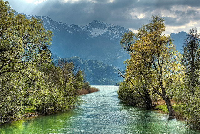 by jmauerer on Flickr.Kochelsee - Bavaria, Germany.