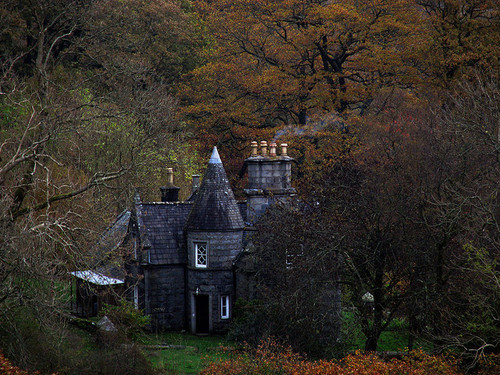 Medieval Castle, Galoway Hills, Scotland