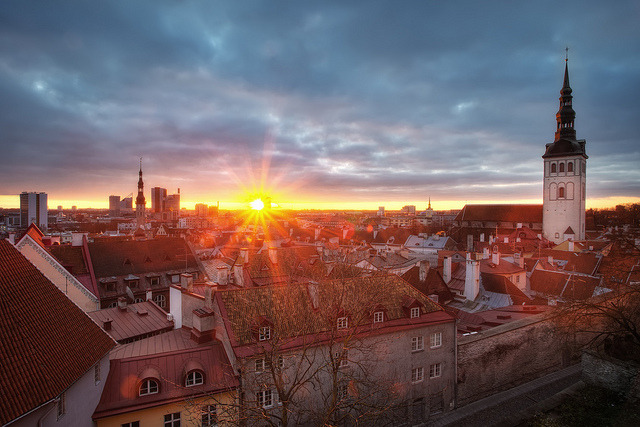 by TheFella on Flickr.Tallinn Old Town - Estonia.