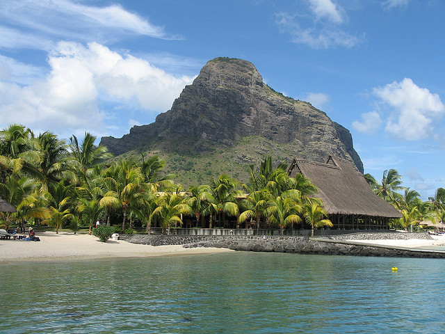 by Chris of the World on Flickr.Le Morne - Mauritius Island.
