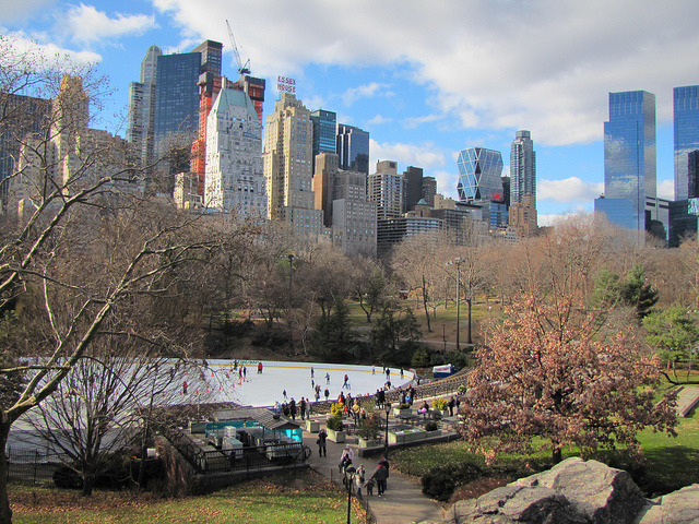by Carol Castro on Flickr.Downtown Manhattan seen from Central Park - New York, USA.