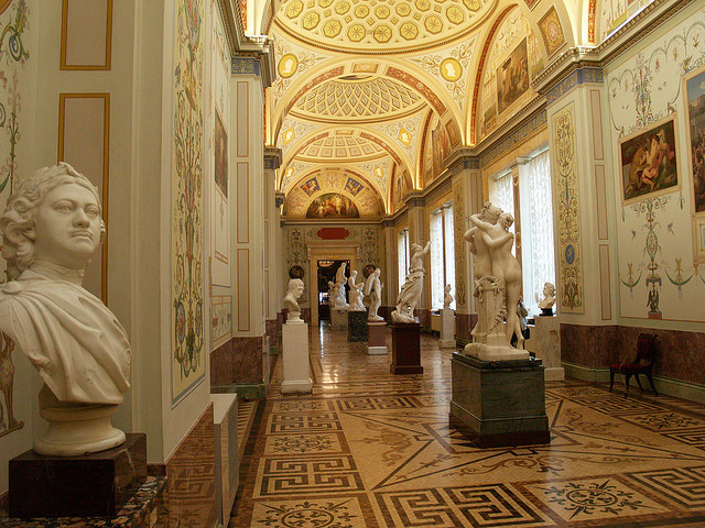 by Mikhail Golub on Flickr.A visit inside Hermitage Museum - Sankt Petersburg, Russia.