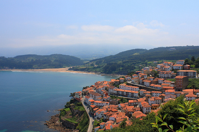 by Tino Gonzalez on Flickr.The small town of Lastres in Asturias, Northern Spain.