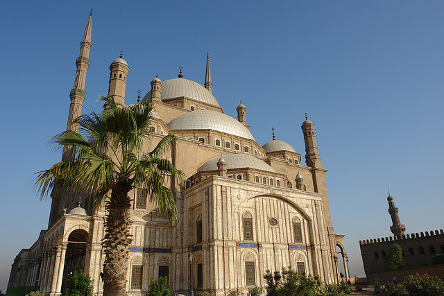 by Tscherno on Flickr.Mohammed Ali Mosque in Cairo, Egypt.