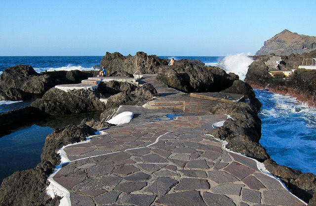 by Yodod on Flickr.Lava pools in Garachico, Tenerife - Canary Islands, Spain.