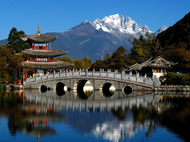 by CW Ye on Flickr.Heilong Tan Park in Lijiang, China.