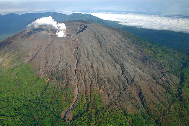 by german_sagastume on Flickr.Smoke emerging from Santa Ana Volcano in El Salvador.