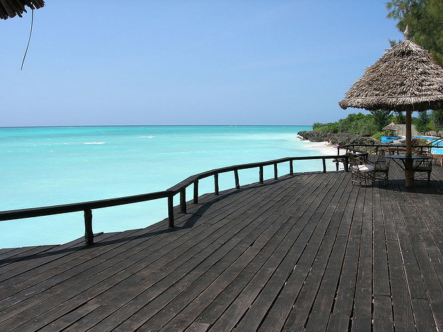 by Gasti on Flickr.Mnarani Beach Cottage in Zanzibar, Tanzania.