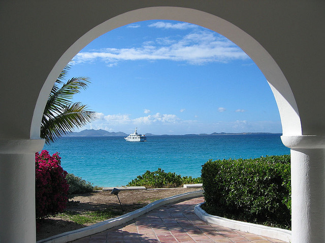 by tiarescott on Flickr.Room with a View at Cap Juluca, Anguilla.