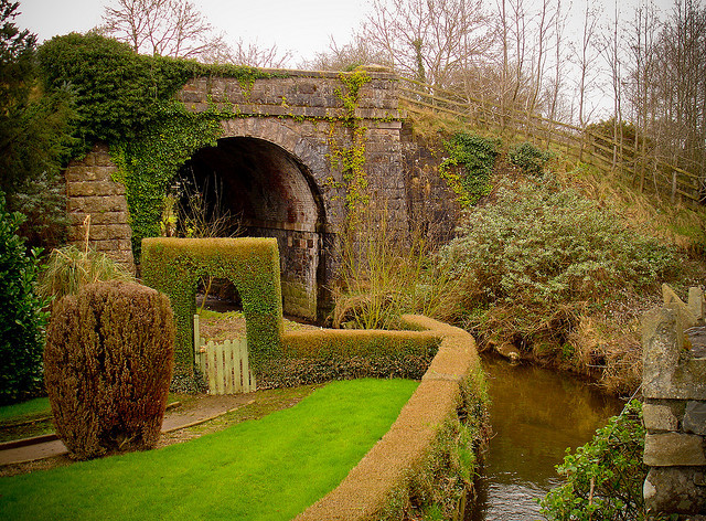 Stonebridge, the old Portadown to Armagh line, Richhill, Northern Ireland