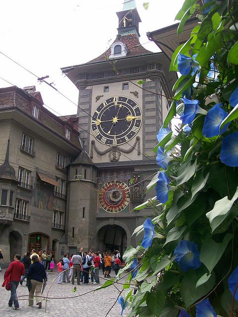 Zytglogge-Turm, a famous landmark in Bern, Switzerland