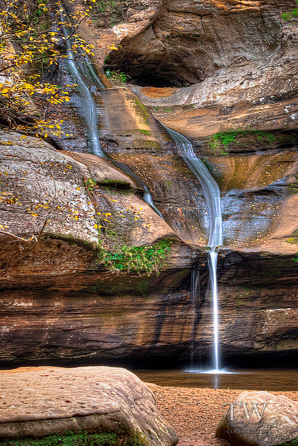 Cedar Falls, Hocking Hills in Ohio, USA