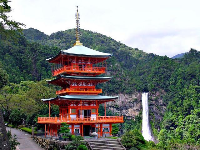 Seigantoji Temple and Nachi Falls, Wakayama Prefecture, Japan