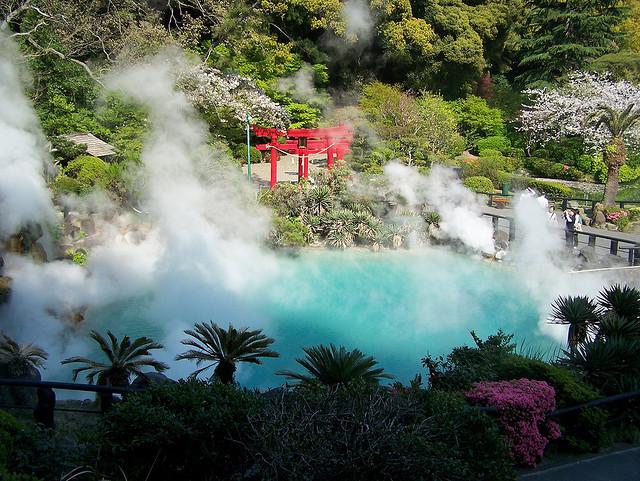 The Hells, Beppu Hot Springs, Japan