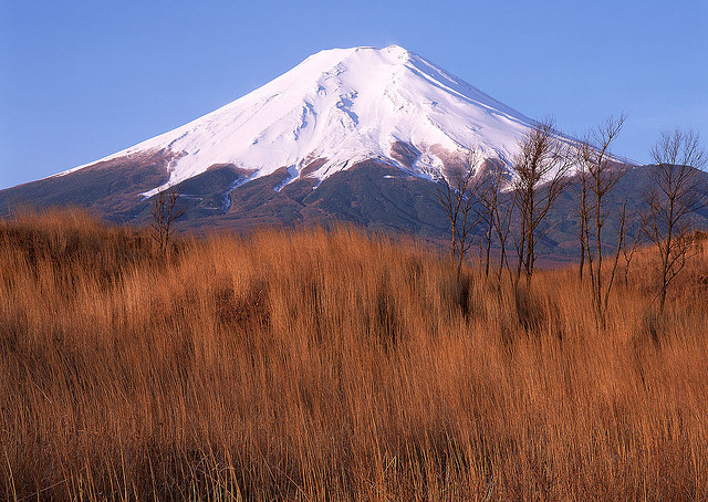 Mount Damavand, the highest volcano in all Asia, northern Iran