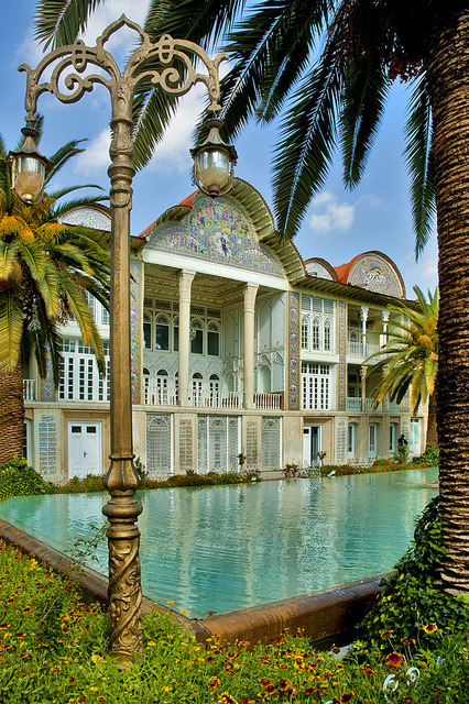 Eram Gardens in Shiraz, Iran