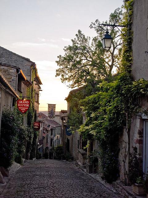 Grand Rue Raimon VII in Cordes-Sur-Ciel, France