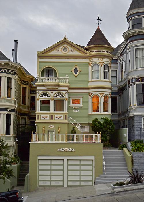 Victorian House, San Francisco, California