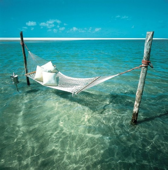 Beach Hammock, The Maldives
