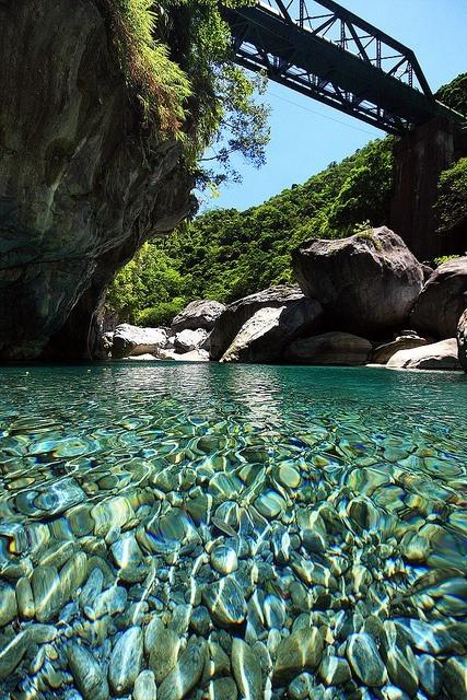 Crystal Clear, Taroko River, Taiwan