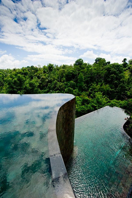 Pools at Ubud Hanging Gardens Resort, Bali, Indonesia