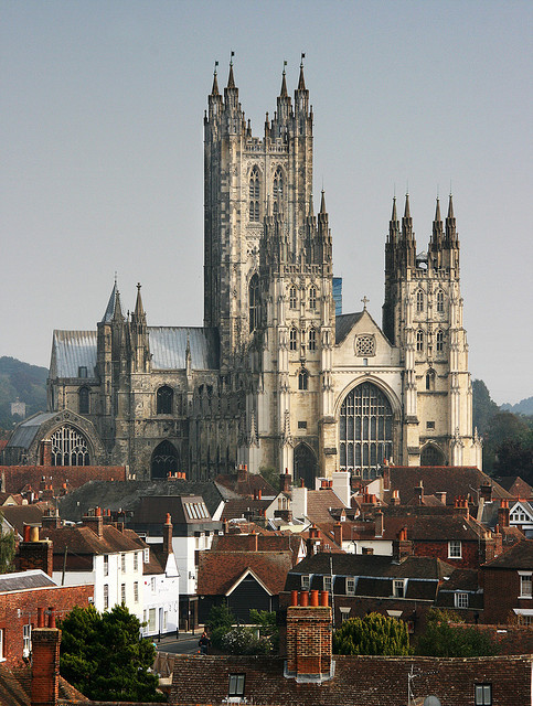 Canterbury Cathedral, one of the oldest and most famous christian structures in England