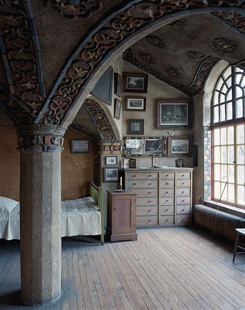 Victorian Bedroom, Mercer House, Doylestown, Pennsylvania