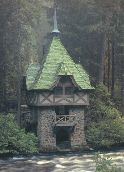 Teahouse, Wyntoon,  Siskiyou County, California,