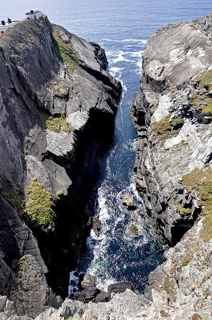 Mizen Head, the most southwesterly point of mainland Ireland