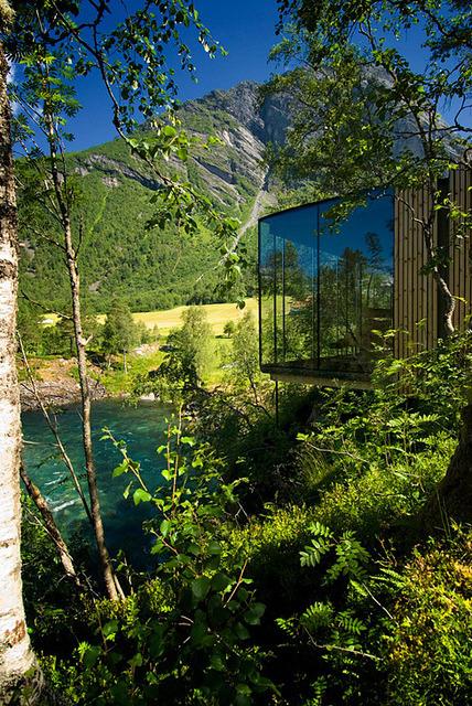 Juvet Landscape Hotel in Valldal, Norway