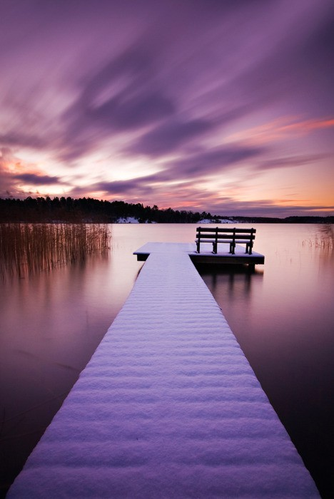 Winter Jetty, Stockholm, Sweden
