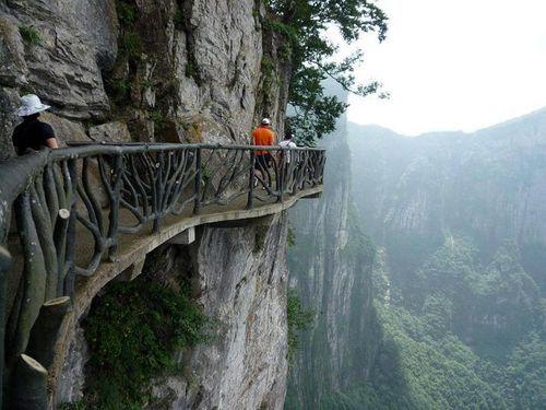 Cliffside Path, Hunan, China