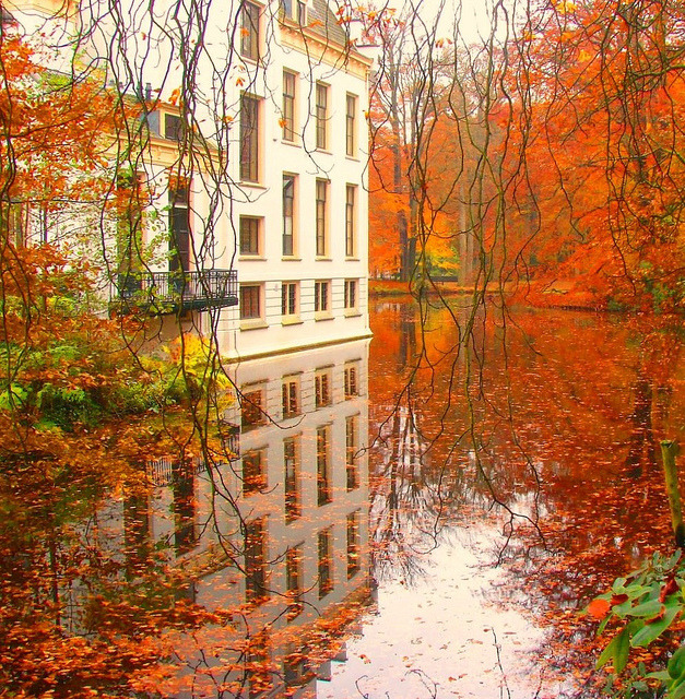 Kasteel Staverden in Gelderland, The Netherlands