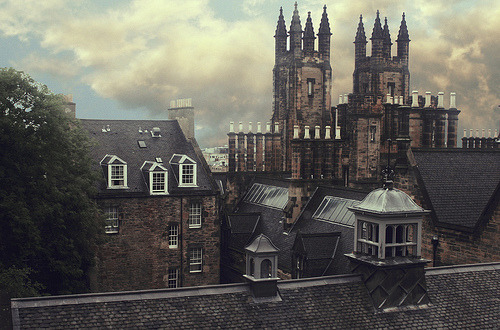 Spires, Edinburgh, Scotland