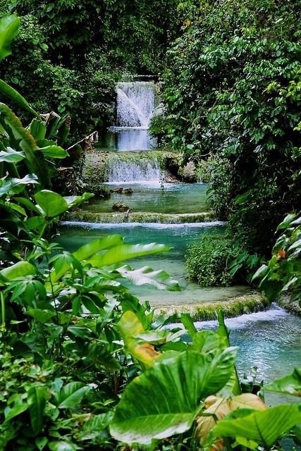 Cascading Waterfall, Vanuatu
