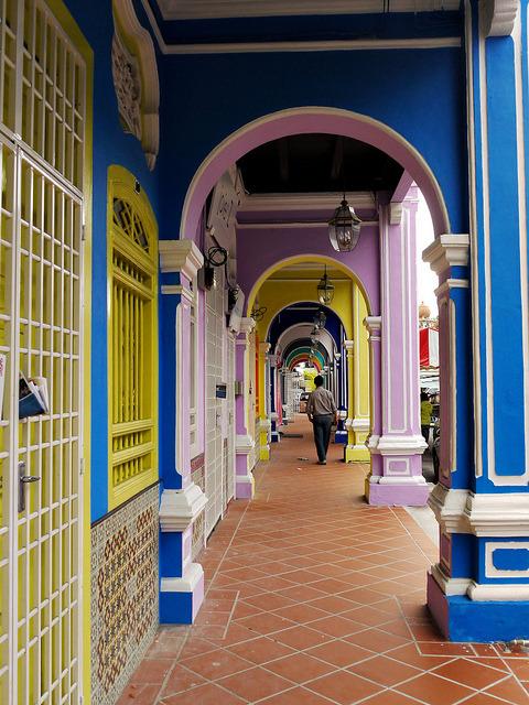 Lorong Kek Chuan Lane in Georgetown, Malaysia