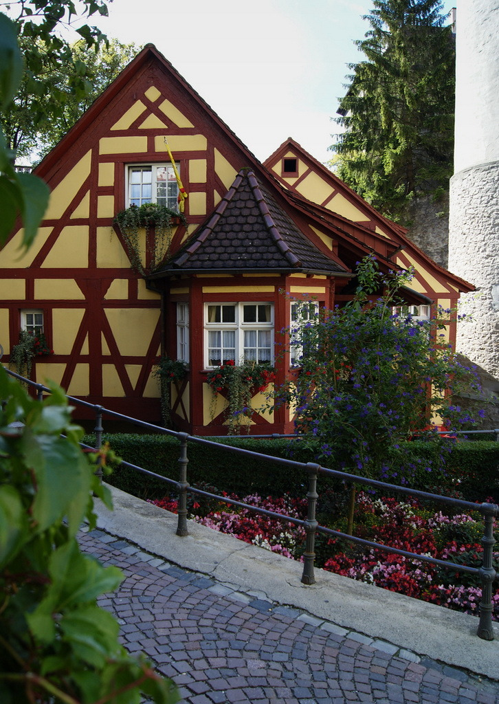 Lovely timber house in Meersburg, southern Germany