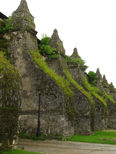 Paoay Church, Unesco World Heritage Site in Ilocos Norte, Philippines