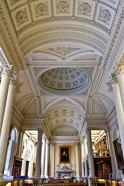 The great library at Osgoode Hall in Toronto, Canada
