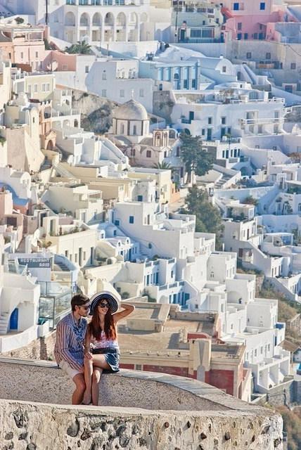 Santorini Love