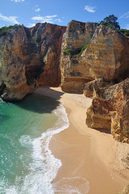 Praia de Dona Ana, Algarve Coast / Portugal