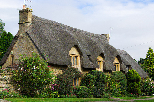 Thatched Cottage in Chipping Campden / England