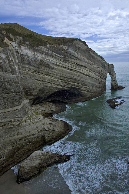 Cape Farewell at Wharariki Beach, New Zealand
