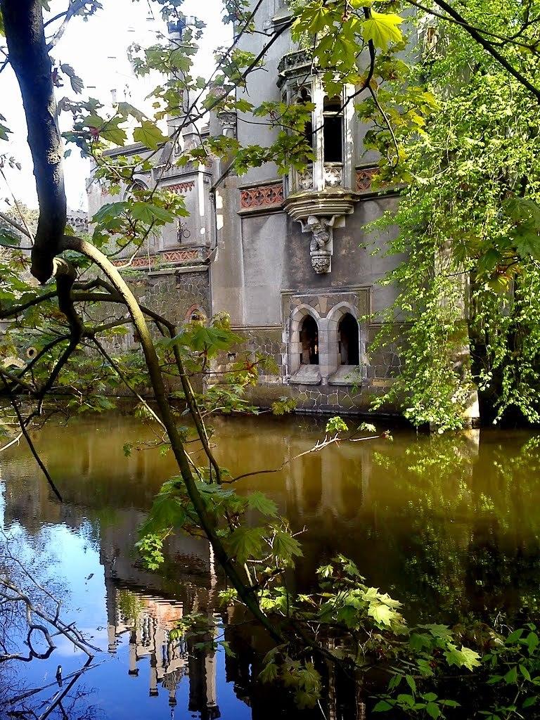 The abandoned palace of Kopice / Poland