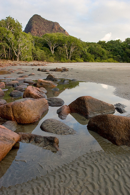 Nina Peak reflection, Hinchinbrook Island / Australia