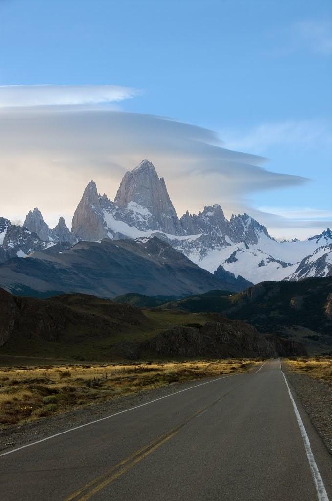 On the way to Fitz Roy, El Chalten / Argentina